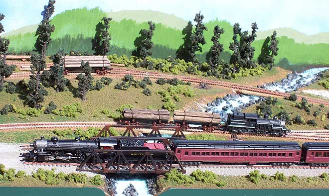 N- Scale Logging